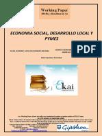 Pymes y Cooperativas en El Desarrollo Local