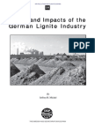 Status and Impacts of the German Lignite Industry