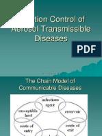 Control of aerosol transmitted diseases