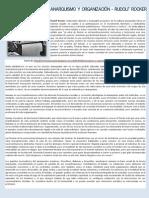 Anarquismo y Organización - Rudolf Rocker
