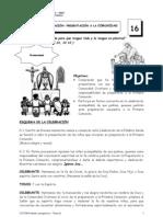 TEMA 16 CELEBRACION DE LA PRESENTACIÓN A LA COMUNIDAD corregido