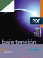 Catalogo Baja Tension Siemens