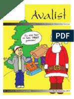 Avalist 43 (Weihnachtsausgabe)