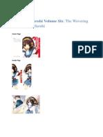 suzumiya haruhi volume 6 - the wavering of suzumiya haruhi