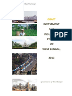 Westbengal Draft Industrial Policy2013