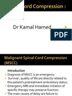 Last Malignant Spinal Cord Compression (Mscc)