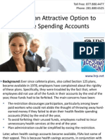 IRS Adds an Attractive Option to Flexible Spending Accounts