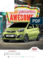 The New Kia Picanto is Meant to Be Admired