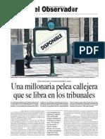 Publicidad en la Ciudad de Buenos Aires, Una millonaria pelea callejera que se libra en los tribunales