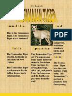 Laura S. Tasmanian Tiger