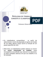 Doencas Ocupacionais Conceito e Classificacao