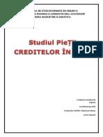 Studiul Pietei Creditelor in Rm