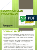 Suguna Chicken Ppt