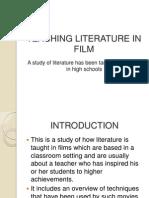 Teaching Literature in Film
