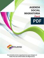 Agenda Social Migratoria Perú