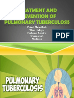 Treatment and Prevention of Pulmonary Tuberculosis