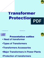 Transformer Protections in Thermal Power Plant