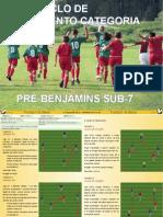 Microciclo de Treinamento Categoria Pre Benjamins Sub 7-1