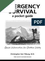Emergency Survival a Pocket Guide