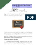Tips Menghadapi Praktikum Untuk Bakal Guru
