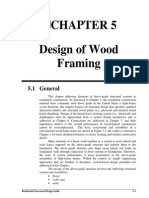 Chapter 5 - Design of Wood Framing