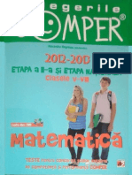 Carti Teste.comper.matematica.clasele.v VIII Ed.paralela.45 TEKKEN