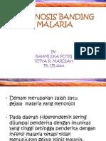 Diagnosis Banding Malaria