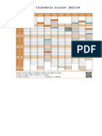 Calendar i o Escola r 201314