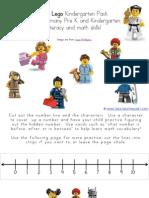 Lego Kindergarten Printables