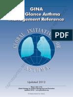 Asthma - Gina At A Glance - 2012