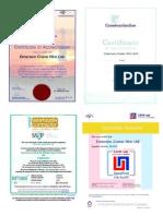 Certificates 10-2013