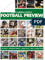 2009 Garfield County Football Preview
