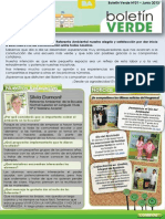 Boletín Verde Nro 1 - Junio 2013 - Referentes Ambientales