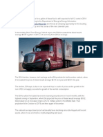 Trucking Jobs Wisconsin Anticipates Diesel to Dip in 2014