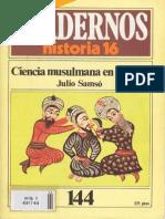 CH16-144 Ciencia musulmana en España