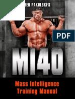 MI40 MainTrainingManual-Pakulsky