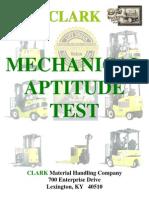 Mechanical Aptitude Test 080609