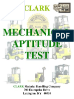 Mechanical Aptitude Test 080609