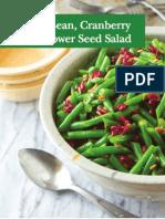 Nutritious and Seasonal Recipes for School Cooks by School Cooks with School Cuisine Cookbook Cranberry Recipes