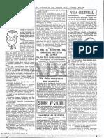 Entrevista a Julio César Chaves en Abc Madrid - Octubre de 1959