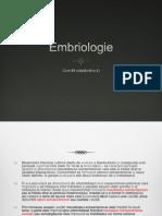 Embriologie Curs 2