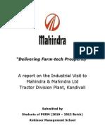 Mahindra Industrial Project