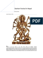 Celebrating Dashain Festival in Nepal