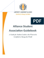alliance student association guidebook