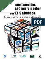 Comunicación y Poder en El Salvador Claves para la democracia