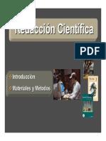 REDACCION CIENTIFICA INTRODUCCION