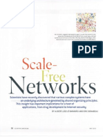 Scale Free network paper