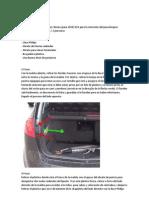 Instalacion de Sensor de Aparcamiento Seat Altea