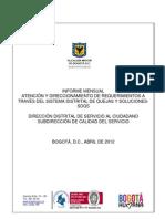 Informe Sdqs Abril Dc 2012