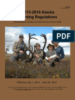 2013 2014 Alaska Hunting Regulations